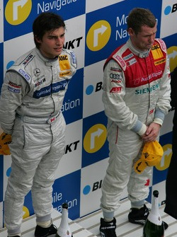 Podium: Bruno Spengler and Tom Kristensen