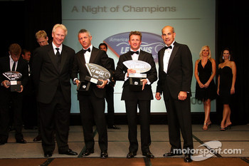 LMP1 champions: Rinaldo Capello and Allan McNish