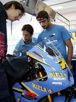 Team manager Massimo Rivola and Vitantonio Liuzzi