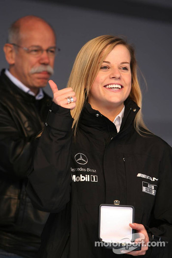 Dr. Dieter Zetsche and Susie Stoddart