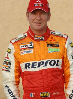Team Repsol Mitsubishi Ralliart presentation in Paris: Pascal Maimon