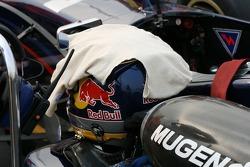 Sebastien Buemi's helmet