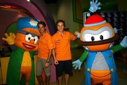 Cosmos World Theme Park, Kuala Lumpur: Jeroen Bleekemolen and Renger van der Zande