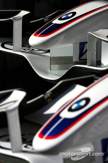 BMW Sauber F1 nose cones