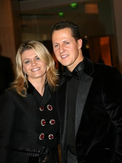 Michael Schumacher, Seven time Formula One World Champion and wife Corinna