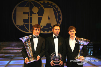 Fernando Alonso, Andy Priaulx and Sébastien Loeb
