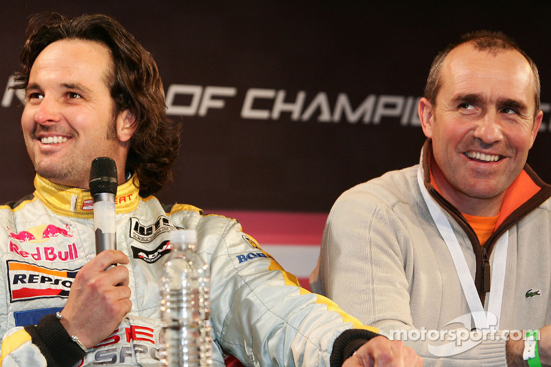 Yvan Muller and Stéphane Peterhansel