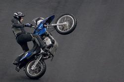 Stunt bike show