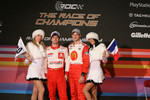 Team Playstation France: Sébastien Loeb and Sébastien Bourdais