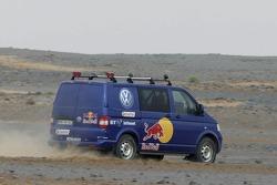 Volkswagen Motorsport test in Morocco: Volkswagen Transporter T5