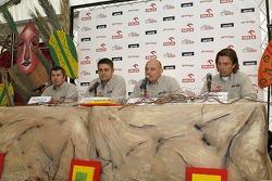Orlen Team: Jean-Marc Fortin, Krzysztof Holowczyc, Jacek Czachor and Marek Dabrowski