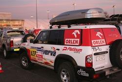 Orlen Team service vehicle