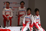 Ralf Schumacher, Franck Montagny, Kohei Hirate and Kamui Kobayashi
