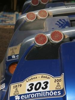Volkswagen Motorsport bivouac