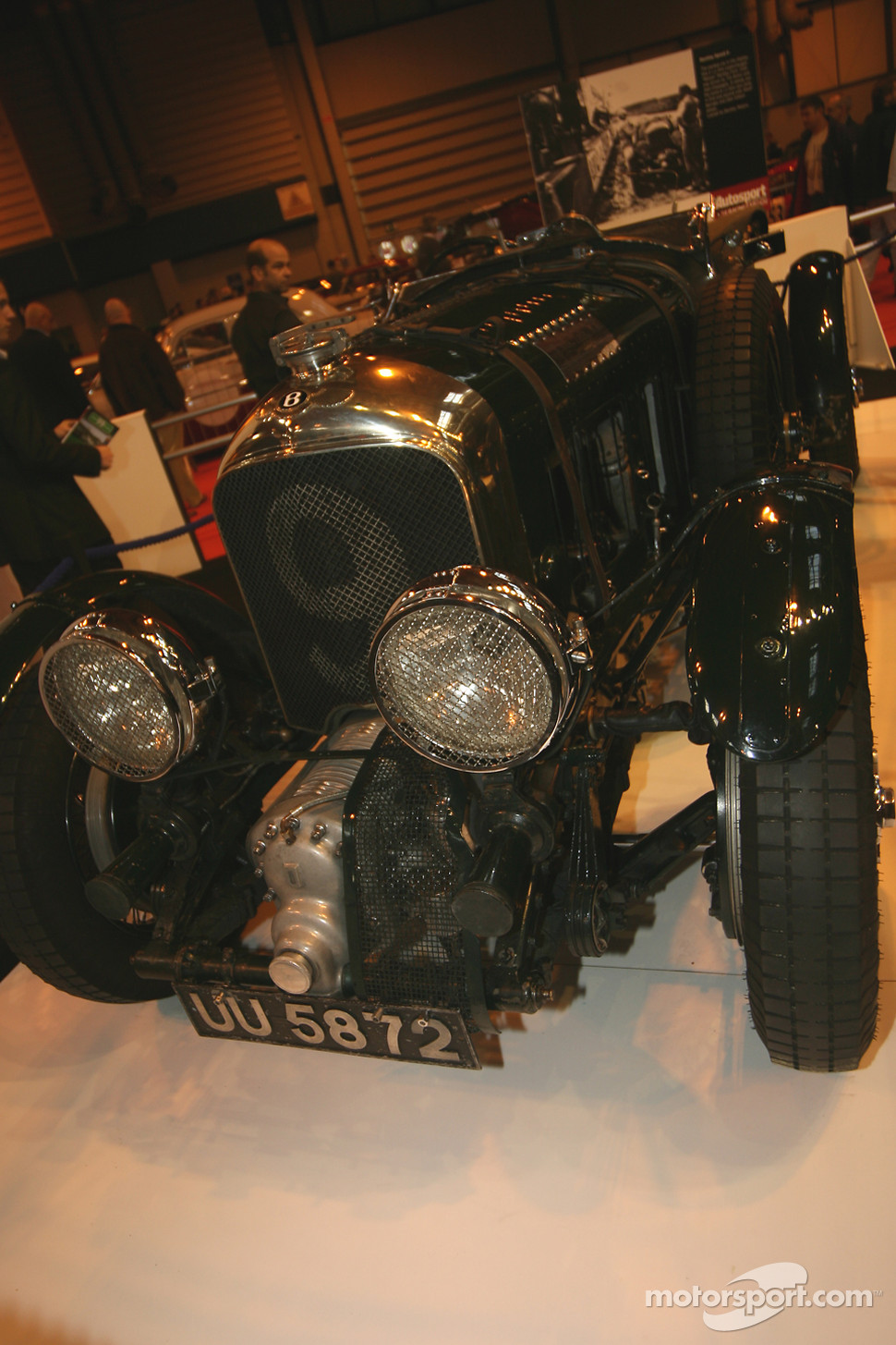 75 Years of Le Mans display: Bentley Speed 6