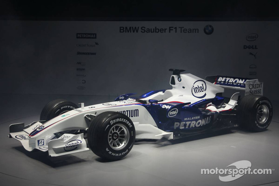 The BMW Sauber F1.07