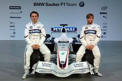Robert Kubica and Nick Heidfeld