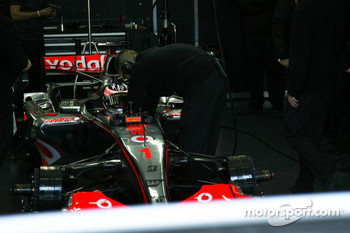 Fernando Alonso in the new MP4-22