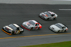 Mark Martin, Elliott Sadler, Matt Kenseth and J.J. Yeley