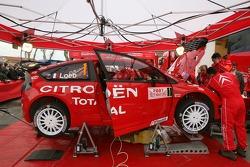 Citroën service area