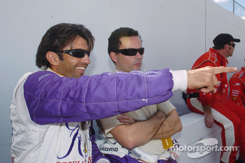 Christian Fittipaldi and Sascha Maassen