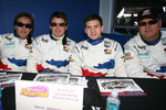Patrick Huisman, Richard Westbrook, Richard Lietz and Steve Johnson