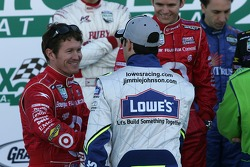 Scott Dixon and Jimmie Johnson