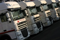 Team Super Aguri trucks