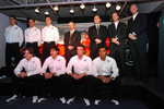 Adrian Sutil, Christijan Albers, James Key, Mike Gascoyne, Colin Kolles, Michiel Mol, Victor Muller, Markus Winkelhock, Adrian Valles, Giedo van der Garde and Fairuz Fauzy