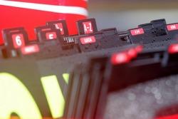 Ferrari pit board letters