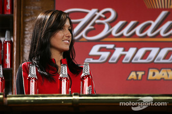 A lovely Budweiser hostess