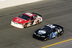Elliott Sadler and Ryan Newman
