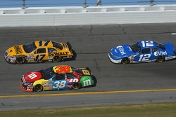 David Gilliland, Matt Kenseth and Ryan Newman