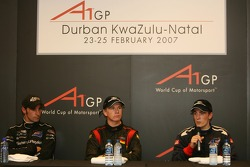 Press conference: race winner Nico Hulkenberg with Robbie Kerr and Matt Halliday