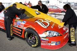 Bud Chevy at tech inspection