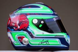 Red Bull Racing and Scuderia Toro Rosso photoshoot: helmet of Vitantonio Liuzzi