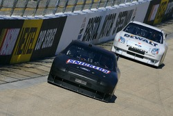 Ricky Rudd leads Matt Kenseth
