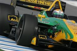 Will Power driving the Team Australia Panoz DP01
