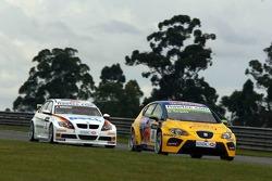 Gabriele Tarquini, SEAT Sport, SEAT Leon and Jorg Muller, BMW Team Germany, BMW 320si WTCC