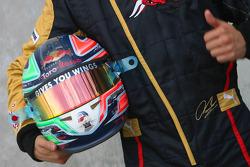Vitantonio Liuzzi, Scuderia Toro Rosso, helmet
