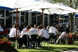 BMW Sauber F1 Team, Hospitality