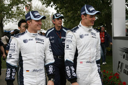 Nico Rosberg and Alex Wurz, WilliamsF1 Team