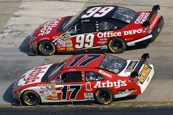 Matt Kenseth and Carl Edwards