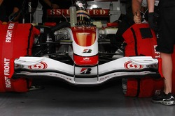 Front Wing of  Super Aguri F1