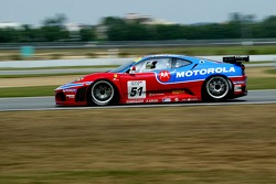 #51 AF Corse Motorola Ferrari 430 GT2: Gianmaria Bruni, Stéphane Ortelli