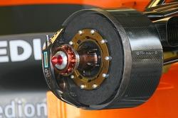 Spyker technical front brake disc