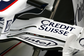 BMW-Sauber F1 Team, front wing