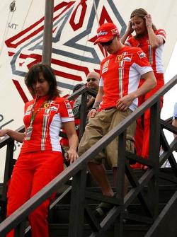 Autograph session: Kimi Raikkonen, Scuderia Ferrari