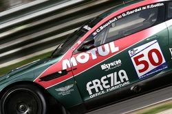#50 Aston Martin Racing Larbre Aston Martin DBR9: Christophe Bouchut, Gabriele Gardel, Fabrizio Gollin