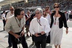 Pasquale Lattuneddu, FOM, Formula One Management, Bernie Ecclestone and Slavica Ecclestone, Wife to Bernie Ecclestone
